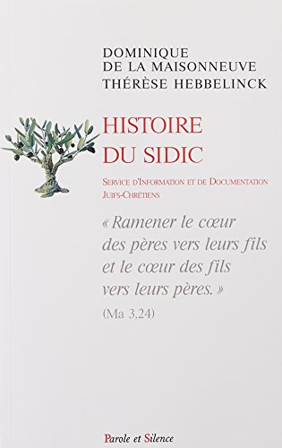 Histoire du SIDIC :