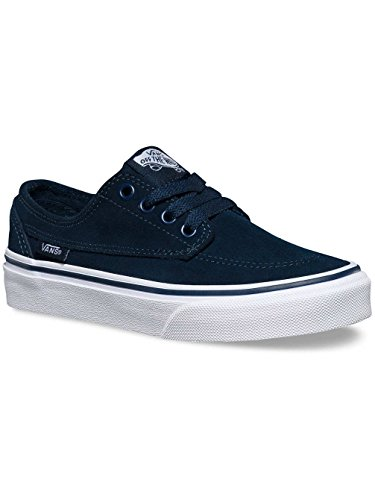 Chaussures Vans K Brigata Suede - Dress Blues / True White-Bleu Bleu