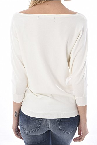 GUESS JEANS Pull Pull Fin Logo Strassé W81r30 - Guess Jeans les BLANCS