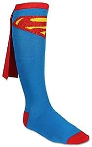 Bioworld Superman Knee High Caped Sock