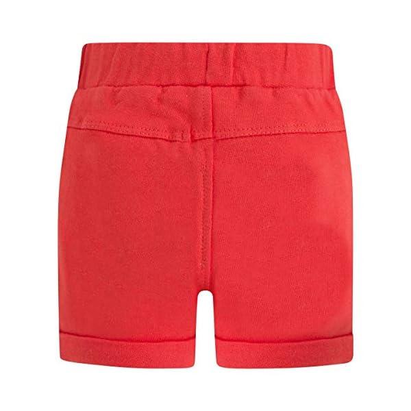 Tuc Tuc Bermuda Felpa Roja Niño Pirates Pantalones para Bebés 2