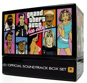 Grand Theft Auto Vice City  O.S.T.Box Set
