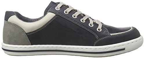 Rieker 19008 Sneakers-men Herren Low-Top Blau (ozean/chalk/atlantis/staub/staub / 14)