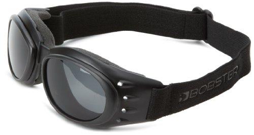 Cruiser 2 Goggles mit 3 austauschbaren Linsen. Schwarzer Rahmen
