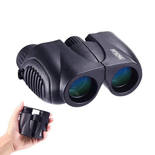 Prismáticos tacklife mbc03pequeño compacto Binocular con visión nocturna 10x 22ligero Mini Binocular Plegable telescópico nítidos Weitsicht para niños adultos escapadas pájaro Observación Concierto