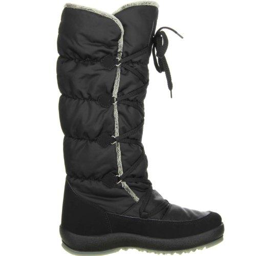 Vista Damen Winterstiefel Snowboots Schwarz 38