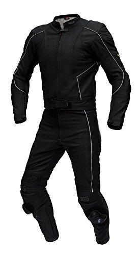 XLS-Pelle-Kombi-von-alta-qualit-Costume-da-bagno-a-due-pezzi-in-Nero-Opaco-a-prezzo-imbattibile-knueller