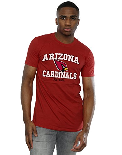 Majestic Herren NFL Arizona Cardinals Football Alt T-Shirt Medium Kardinal (Tee Kardinal Rot)