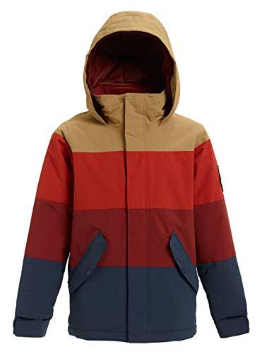 Burton Jungen Symbol Snowboard Jacke, Kelp/Bitters/Sparrow, L Burton Mens System Jacket