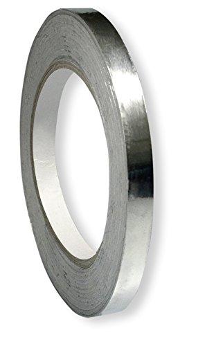 Scotle Aluminium-Folie selbstklebend 10 mm auf 40 m Rolle für Rework-Löten, RW-AF1040