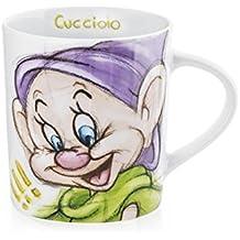 H&H Disney Nani Sketch Tazza Mug, Decoro Assortito, 340 cc, Porcellana, Multicolore