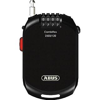 ABUS 2503/120 Vorhängeschloss, schwarz, 120 cm