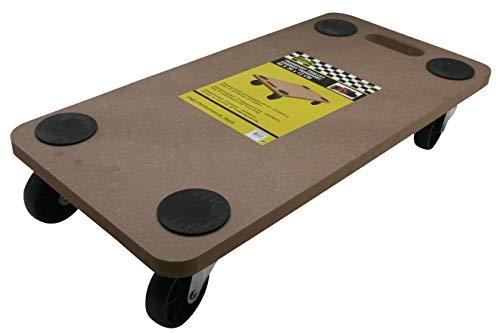 Möbelroller Transportroller Möbelhund Rollbrett Hund 200kg MDF
