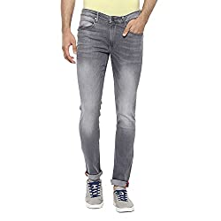LP Jeans By Louis Philippe Mens Albert Fit Jeans (8907689281145_LRDN517R04676_30_Grey)