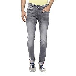LP Jeans By Louis Philippe Mens Albert Fit Jeans (8907689281152_LRDN517R04676_34_Grey)