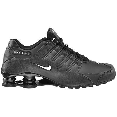 online store d7edf d1874 Nike Men s Shox NZ EU Black White 501524-091 (SIZE  ...