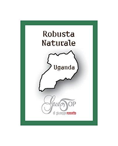 Caffè in grani, Monorigini Artigianali, Uganda Robusta Naturale, caffè con certificazione di qualità
