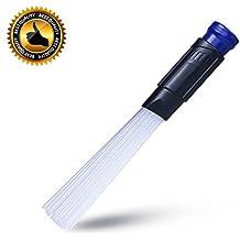 NB Cepillo limpiador de polvo y suciedad universal para ventanas/tecladores/herramientas/cajones/manualidades/plantas/joyería