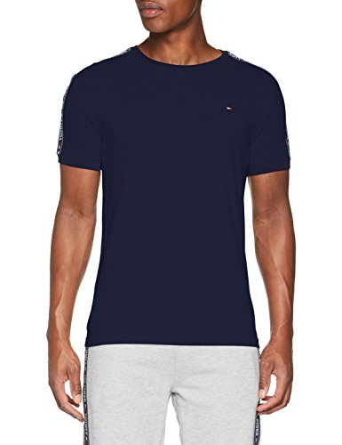Tommy Hilfiger RN tee SS Camiseta, Azul Navy Blazer 416, Small para Hombre