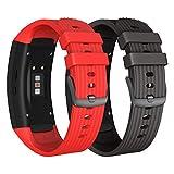 NotoCity Bracelet de Rechange en Silicone pour Montre connectée Samsung Gear Fit 2...