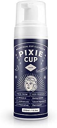 Pixie Cup Better Than Diva Menstrual Cup Wash Vloeibare schuimdispenser, alle organische en natuurlijke ingred