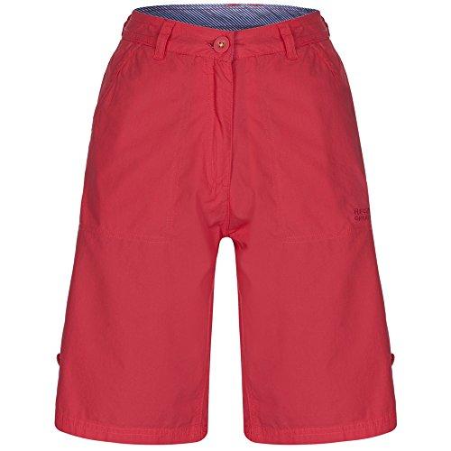 Regatta Ladies Sailway Outdoor Summer Shorts RWJ128 Navy Sorbet Pink