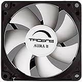 Tacens 3 Auraii 8X8 - Ventilador  10Db, Fluxus Bearing, Antivibration Pad