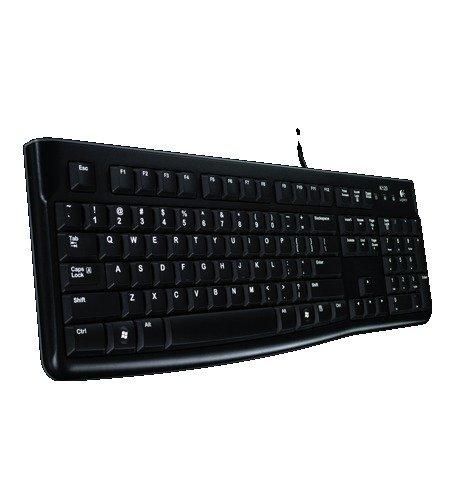 Logitech Keyboard K120 (QWERTY, englisches Tastaturlayout)