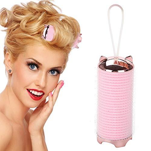 Elektrische Lockenwickler Roller, USB Wiederaufladbare Heizung Magic Lockenwickler DIY Manuelle Hair Styling Werkzeuge Kunststoff Großen Griff Haar Stick (Usb-lockenwickler)