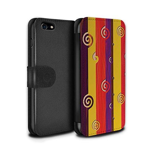 Stuff4 Coque/Etui/Housse Cuir PU Case/Cover pour Apple iPhone 6S / Forêt Hiver Surgelée Design / Moderne Vibrant Collection Rétro Terre Tons