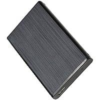 Dolity Carcasa de Disco Duro Externo IDE HDD de 2.5 '' USB con Cable y Mini Destornillador - negro