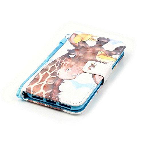 Owbb hibou Housse en PU cuir de protection pour iPhone 7 étui coque de téléphone Color 08