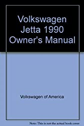 Volkswagen Jetta 1990 Owner's Manual