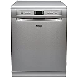 Hotpoint LFF 8M132 IX EU Freestanding 14place settings A+++ dishwasher - dishwashers (Freestanding, Stainless steel, Grey, Buttons, Basket, 14 place settings)