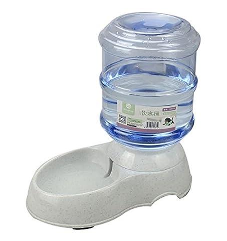 Haustier Hund Katze Lebensmittel Spender Waterer Automatische Feeder Trinker Durable Kunststoff Große Trinkschale 11L Und 3,5L , s