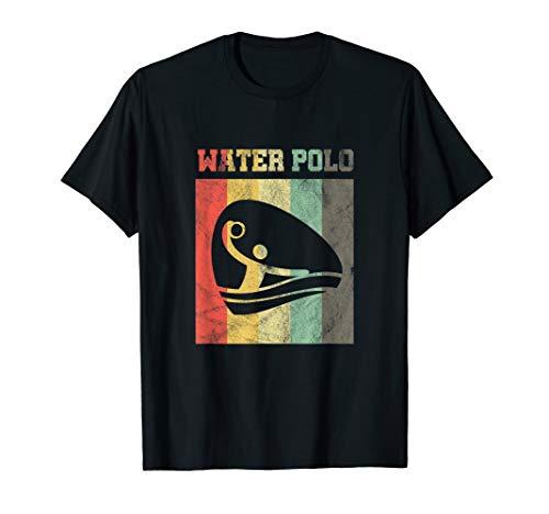 Wasserball Retro Vintage T-Shirt Schwimmen Geschenk