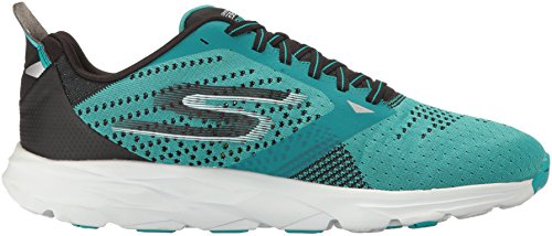 Skechers Herren Go Run Ride 6 Outdoor Fitnessschuhe Verde Acqua / Nero