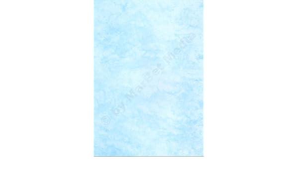 Marmorpapier A4 90g m² 500 Blatt cyan