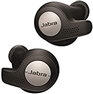 Jabra Elite Active 65t Earbuds - Passive Noise Cancelling Bluetooth Sport Earphones with Motion Sensors for Fi