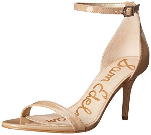 Sam Edelman Patti, Ouvrez-Toe Pumps & Heels femme Beige (Classic Nude Patent)