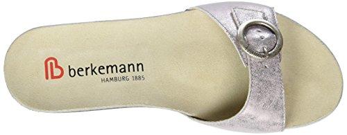 Berkemann Sanne, Mules Femme Silber (rosé/silber)