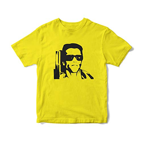 The Terminator Yellow T-shirt, Male Adult