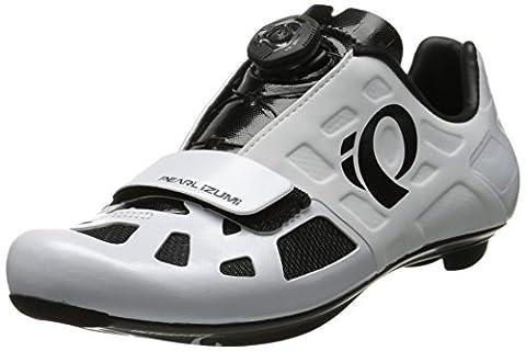 Pearl Izumi - Elite RD IV - Chaussures de cyclisme - taille 48, blanc/noir