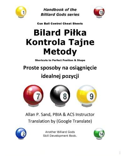 Cue Ball Control Cheat Sheets (Polish)