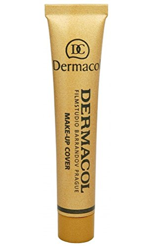 Dermacol Make-up Cover – stark deckende, wasserfeste Foundation mit LSF 30, Helles Beige-Rosé...