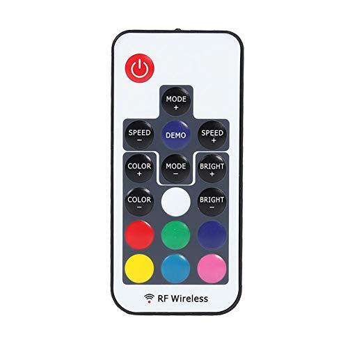 YouN Mini Contrôleur à LED Coloré Sans Fil RF17 Touches Télécommande Pour Bande -