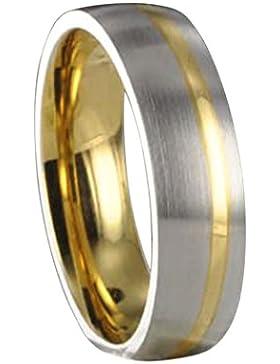 Edelstahl L316 Ring Partnerring Freundschaftsring Ehering X10113