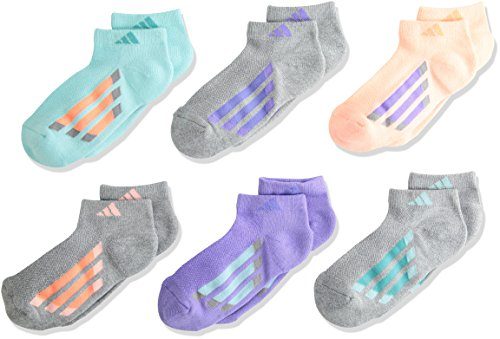 adidas Girls Cushioned 6 Pack Low Cut