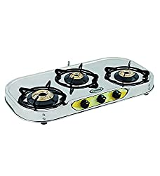 Sunshine VT3 Series 1 Gas Stove, 3 Burner