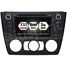 Android 7.1GPS DVD BT Radio Navegador BMW Serie 1E81/E82/E87/E88